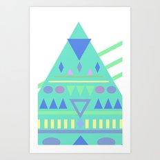 TriPhone Art Print