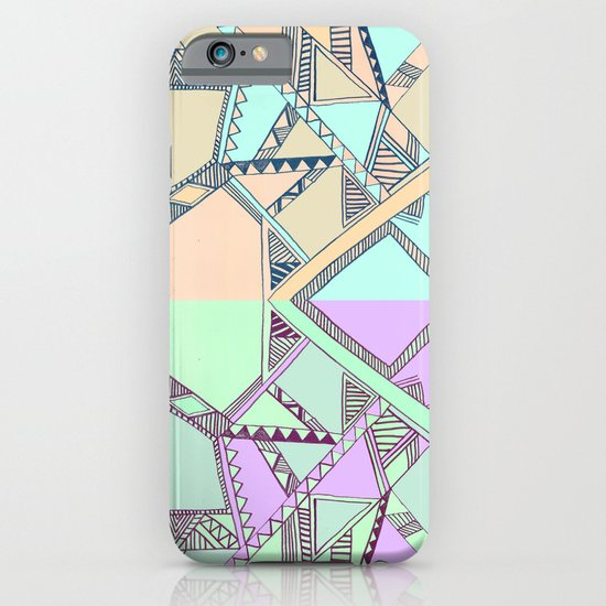 Aztec print illustration iPhone & iPod Case