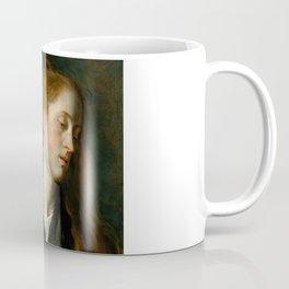 "Sir Anthony van Dyck ""Study Head of a Young Woman"" Coffee Mug"