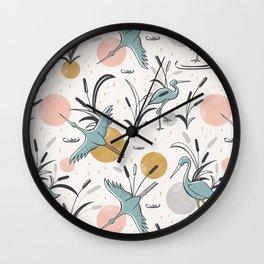 Marshland Wall Clock