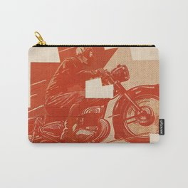 Motorcycle Race II Carry-All Pouch