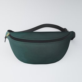 Ombre Emerald Fanny Pack