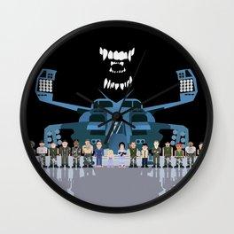 USS Sulaco Crew  Wall Clock