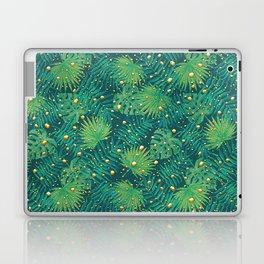 Tropical Gold Dots Laptop & iPad Skin