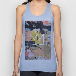 Boom For Real Unisex Tank Top