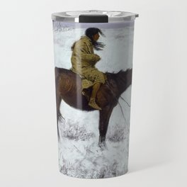 Frederic Remington - The Herd Boy, 1910 Travel Mug