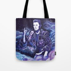 Bowie - Back to the Stars Tote Bag