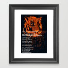 Thy Fearful Symmetry  Framed Art Print