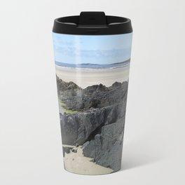 Rock Pool in Donegal Ireland Travel Mug