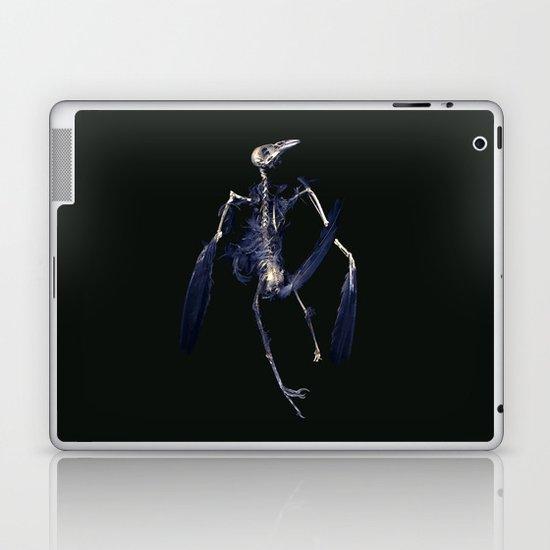 Crow Skeleton Laptop & iPad Skin