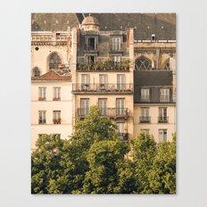 Sunny Paris Canvas Print