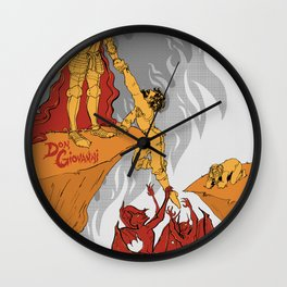 Don Giovanni: The Climax Wall Clock