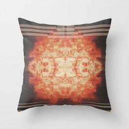 Fire Ball Feeling Throw Pillow