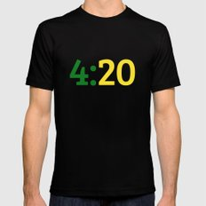 Oakland 420 Mens Fitted Tee Black LARGE
