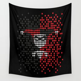 Quinn of Diamonds Wall Tapestry