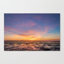 Cotton Candy Sunrise Canvas Print