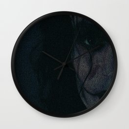 The Crow Screenplay Print Wall Clock