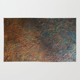 Elements of Copper Rug