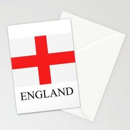 England flag Stationery Cards