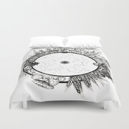 Cosmic Wheel Duvet Cover