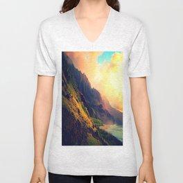 Wild Mountain Home Unisex V-Neck