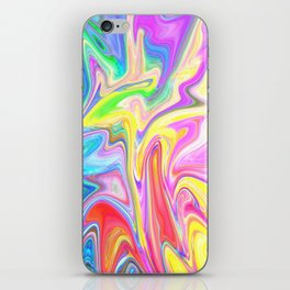 Gr00vy Waves iPhone Skin
