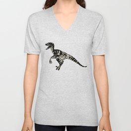ChocoPaleo: Velociraptor Unisex V-Neck