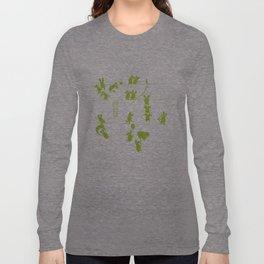 Green Bunnies Long Sleeve T-shirt