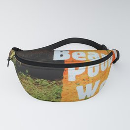 Bears Do Poop In The Woods Fanny Pack