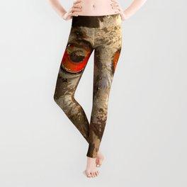 Crazy Paint - Owl Leggings