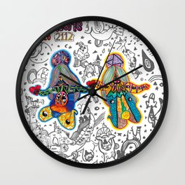 """2112"" Wall Clock"