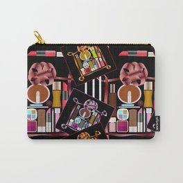 Set of cosmetics and perfumes . Carry-All Pouch
