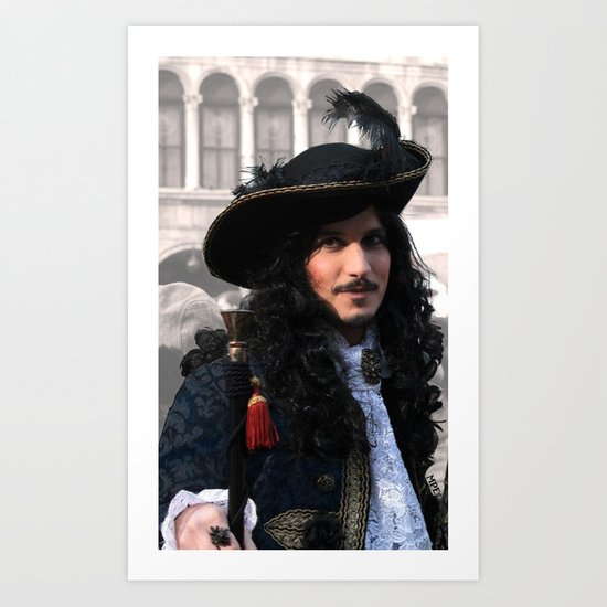 Patrician pirate Art Print
