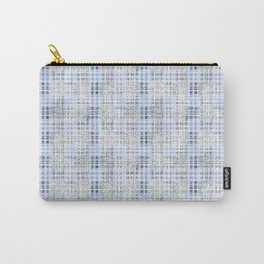 Classical blue with a gray cell. Carry-All Pouch