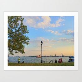 Caton Waterfront Art Print