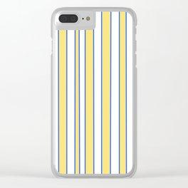 Strips 3-line,band,striped,zebra,tira,linea,rayas,rasguno,rayado. Clear iPhone Case