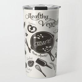 Health Vegetables Travel Mug
