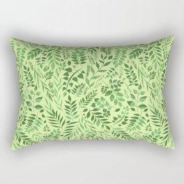 Lemongrass (Essential Oil Collection) Rectangular Pillow