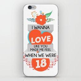 18 iPhone Skin