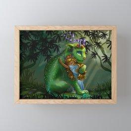 Tender Tiger Framed Mini Art Print