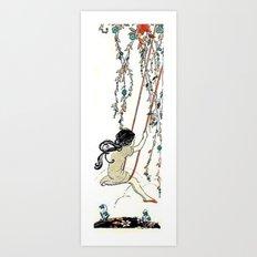 Vintage Swing Art Print