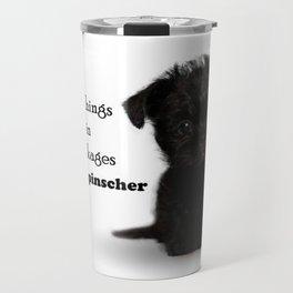 Affenpinscher Puppy Love Travel Mug