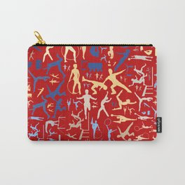 Sport related symbols background Carry-All Pouch