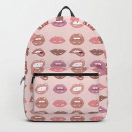 Nude Lip Shades Backpack