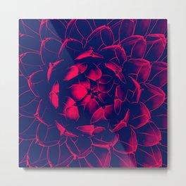 Red Cactus Fun! Metal Print
