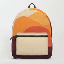 Geometric Landscape 21 Backpack