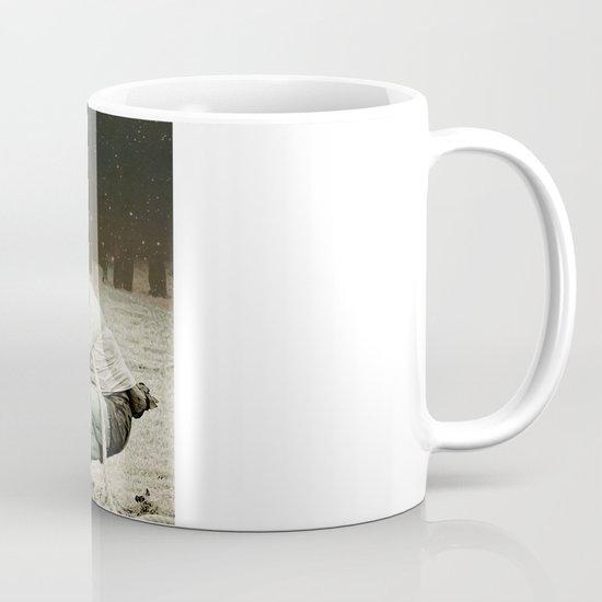 locking horns under Taurus Mug