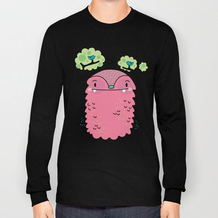 Tree monster Long Sleeve T-shirt