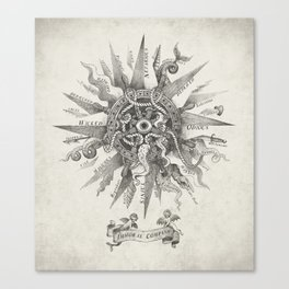 The Immoral Compass Canvas Print