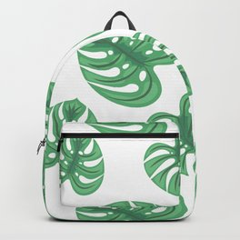 Monstera Patterns Backpack